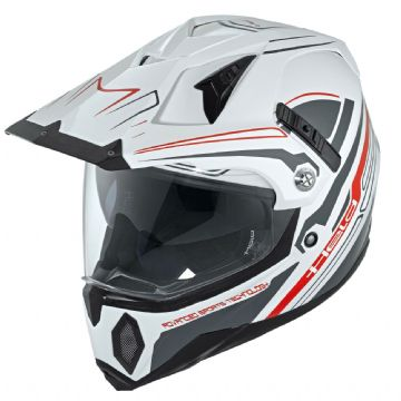 Held Makan Enduro Motorcycle Motorbike Full Face Adventure Helmet - Large